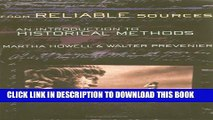 [Read PDF] From Reliable Sources: An Introduction to Historical Methods Ebook Online