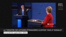 """La """"ministre des affaires étrangères Clinton"""" face à """"Donald"""""""