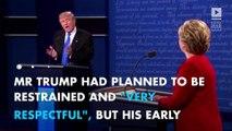 The moment Hillary Clinton beat Trump at last night's debate