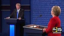HC Seizure - Presidential Debate - Donald Trump vs. Hillary Clinton