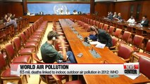 9 out of 10 people worldwide are exposed to polluted air, WHO says