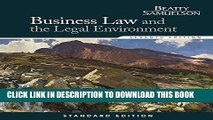 Collection Book Business Law and the Legal Environment, Standard Edition (Business Law and the