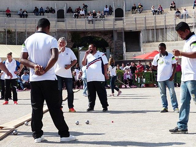 1er International à pétanque de Fréjus : Demi-finale Foyot VS Madagascar