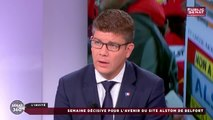 Cédric Perrin évoque les avancées du dossier Alstom