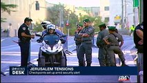 Jerusalem : checkpoints set up amid security alert