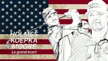 Golf - Ryder : Holmes revient, Koepka et Moore débarquent