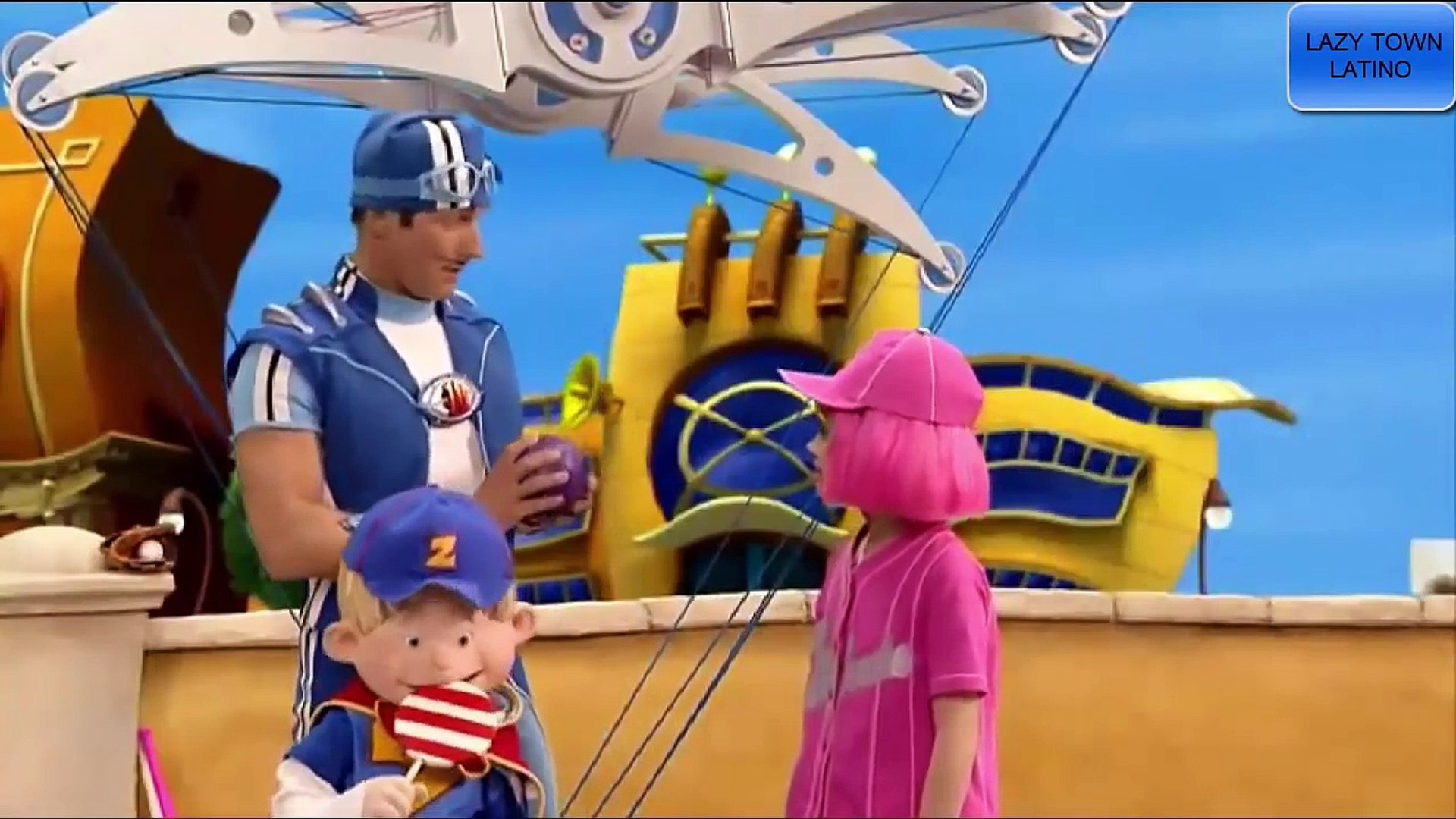 Lazy Town Capitulo 5 - Insomnio En Lazy Town - Latino HD - Dailymotion Video
