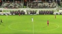 But de John Tshibumbu - Gazélec FC Ajaccio 1-1 Amiens SC - (27/09/2016)