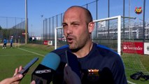 FCB Masía: Gabri previa Youth League Borussia – FCB [ESP]
