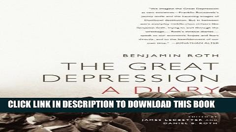 Collection Book The Great Depression: A Diary