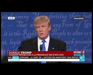 Trump/Clinton Trump contre la désindustrialisation et les pertes d'emplois aux USA