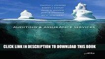 [Read PDF] Auditing   Assurance Services, 5th Edition (Auditing and Assurance Services) Download
