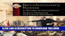 [PDF] Revolutionary Russia: A History in Documents (Pages from History) Full Colection