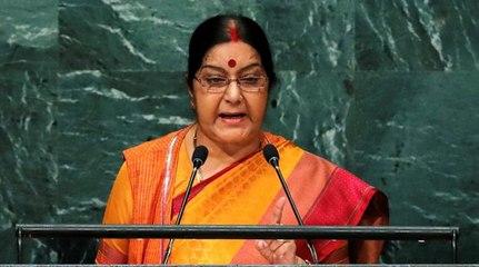 Jammu & Kashmir will remain an integral part of India: Sushma Swaraj