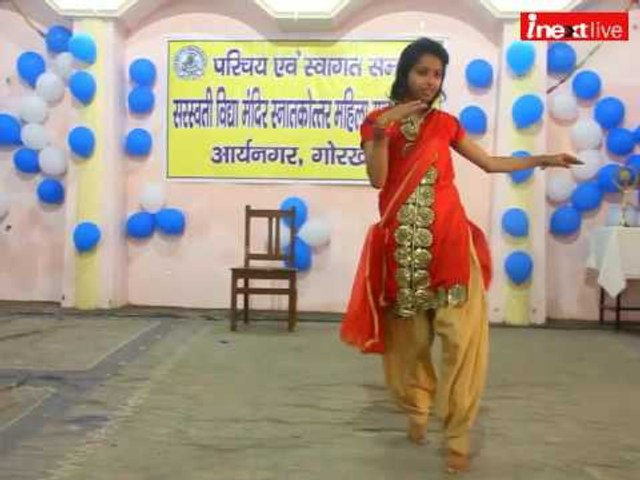 Girls rock the dance floor in Grand freshers party at Gorakhpur