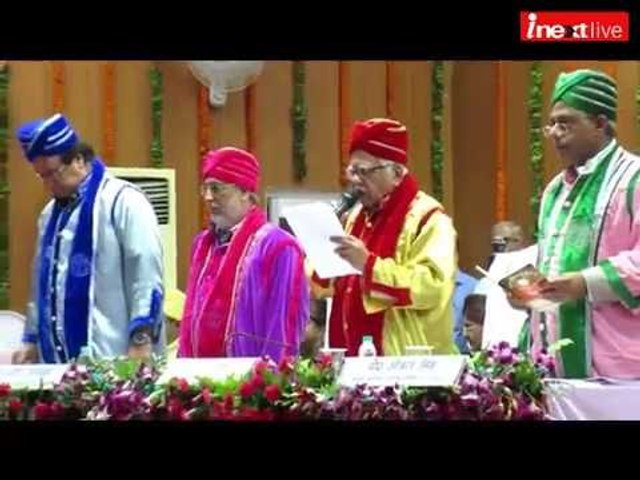 Gorakhpur: In first Convocation of MMMUT, UP Governor awards medals to Top scholars