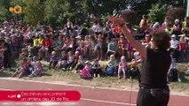 SUJET: Des élèves rencontrent un athlète des JO de Rio