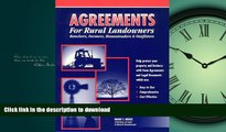 FAVORIT BOOK Agreements for Rural Landowners, Ranchers, Farmers, Homesteaders   Outfitters FREE