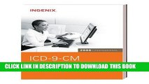 New Book ICD-9-CM 2008 Professional for Physicians (Physician s Icd-9-Cm) (ICD-9-CM Code Book for