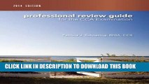 Collection Book Professional Review Guide for the CCA Examination, 2014 Edition