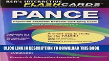 Collection Book PANCE (Physician Assistant Nat. Cert Exam) Flashcard Book (PANCE Test Preparation)