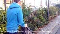 Le calvaire de François à Genappe: conduire son fils en poussette à l'école est un vrai parcours du combattant
