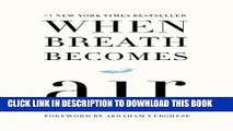 Collection Book When Breath Becomes Air
