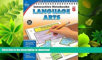 FAVORITE BOOK  Language Arts, Grade 5 (Interactive Notebooks)  GET PDF