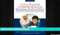 FAVORITE BOOK  The Flynt/Cooter Comprehensive Reading Inventory-2: Assessment of K-12 Reading