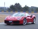 Supertest Ferrari 488 GTB 2016