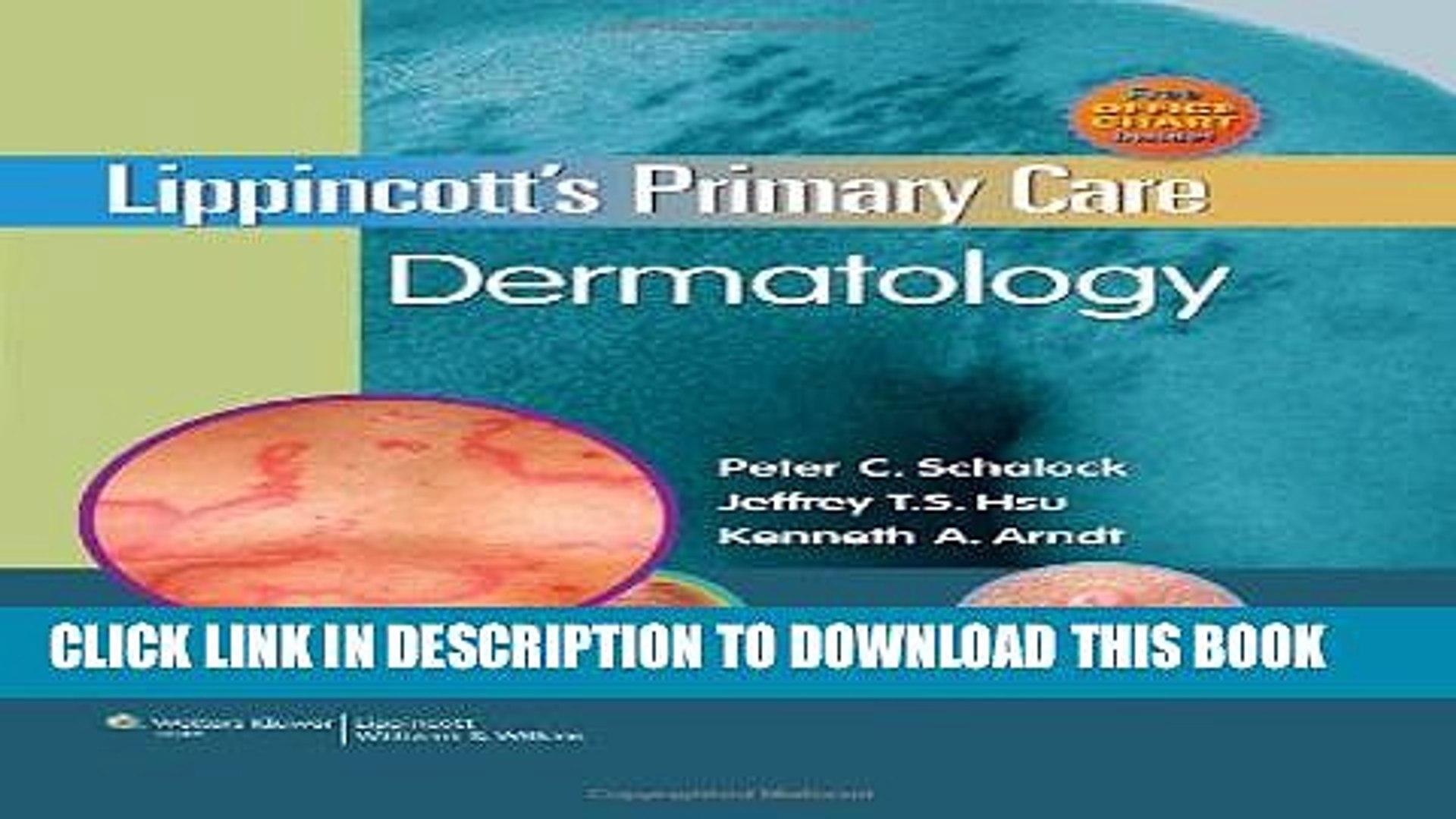 Lippincotts Primary Care Dermatology