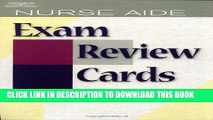 New Book Nurse Aide Exam Review Cards (Test Preparation)