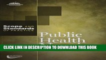 Collection Book Public Health Nursing: Scope and Standards of Practice (American Nurses Association)