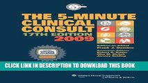 Collection Book The 5-Minute Clinical Consult 2009, Book and Website (The 5-Minute Consult Series)