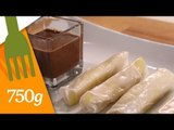 Nems chocolat, banane et orange - 750 Grammes (Recette sponsorisée)
