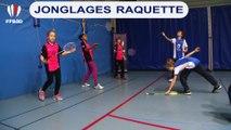 Jonglage raquette