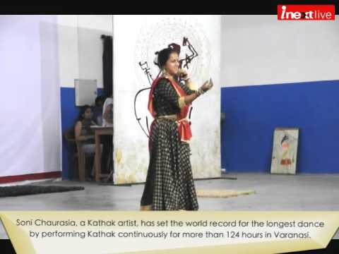 Varanasi girl Soni Chaurasia sets new Guinness World Record for the longest dance