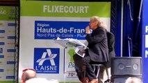 Tour de Picardie 2016 - Nacer Bouhanni dernier vainqueur du Tour de Picardie qui met pied à terre