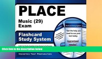 Big Deals  PLACE Music (29) Exam Flashcard Study System: PLACE Test Practice Questions   Exam