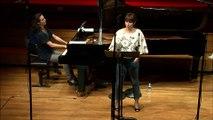 Mozart  : Le Nozze di Figaro, Acte II : Voi che sapete (Chérubin) par Chloé Briot, soprano et Elsa Lambert, piano
