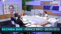 """Affaire Bygmalion : Rachida Dati accuse Elise Lucet de """"faire des ménages"""", la journaliste lui répond"""