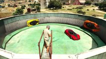 EXTREME WALLRIDE OF DEATH GTA 5 Online Stunts CIRCLE WALL RIDE LOL RedKeyMon