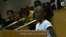 Violences policières à Charlotte : une fillette noire émeut le conseil de la ville avec un discours poignant