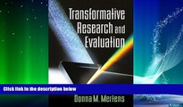 Big Deals  Transformative Research and Evaluation  Free Full Read Most Wanted