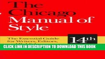 [PDF] The Chicago Manual of Style: The Essential Guide for Writers, Editors, and Publishers (14th
