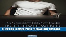 [PDF] Investigative Interviewing: The Conversation Management Approach Full Colection