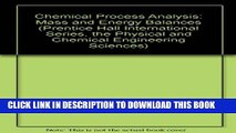 Principles of Chemical Engineering Processes: Material and