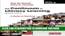 [PDF] The Continuum of Literacy Learning, Grades PreK-8, Second Edition: A Guide to Teaching