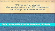 Download Theory and Analysis of Phased Array Antennas PDF Online