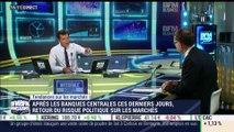 Les tendances sur les marchés: Le risque politique fait son retour sur les marchés, après les banques centrales - 28/09